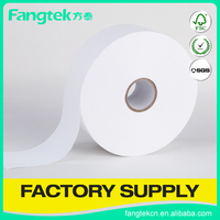 Eco-friendly blank washable care nylon 60x200 garment care instruction label