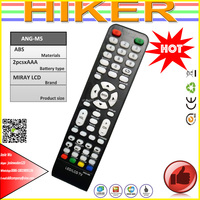 TV REMOTE CONTROLS FOR PERU MARKET ANG-M5 MIRAY LCD REMOTE CONTROL
