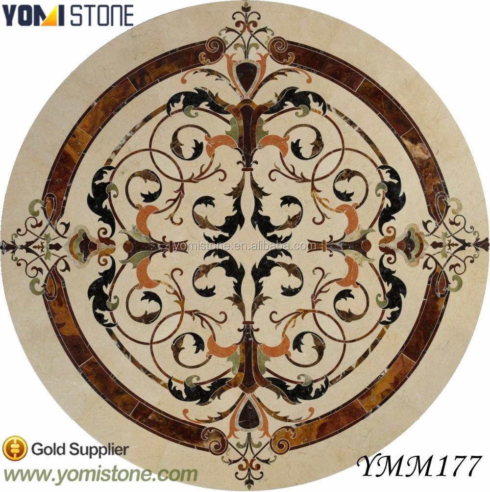 List manufacturers of luxury tile flooring marble medallion buy luxury new design floor tile pattern marble waterjet medallion dailygadgetfo Choice Image