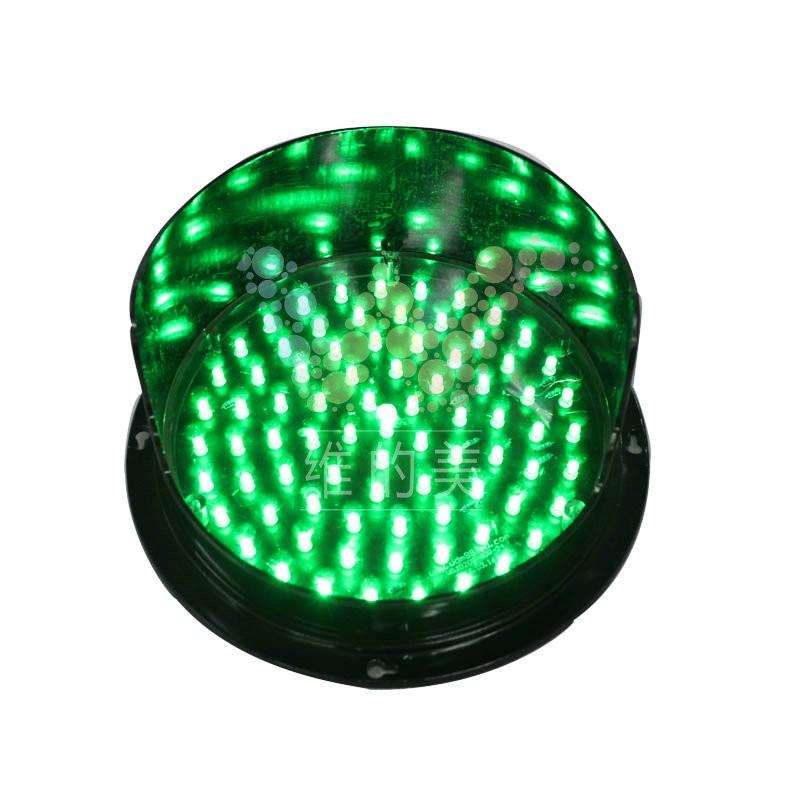 200mm Mini Traffic Signal Decorative Single Lights Red Led
