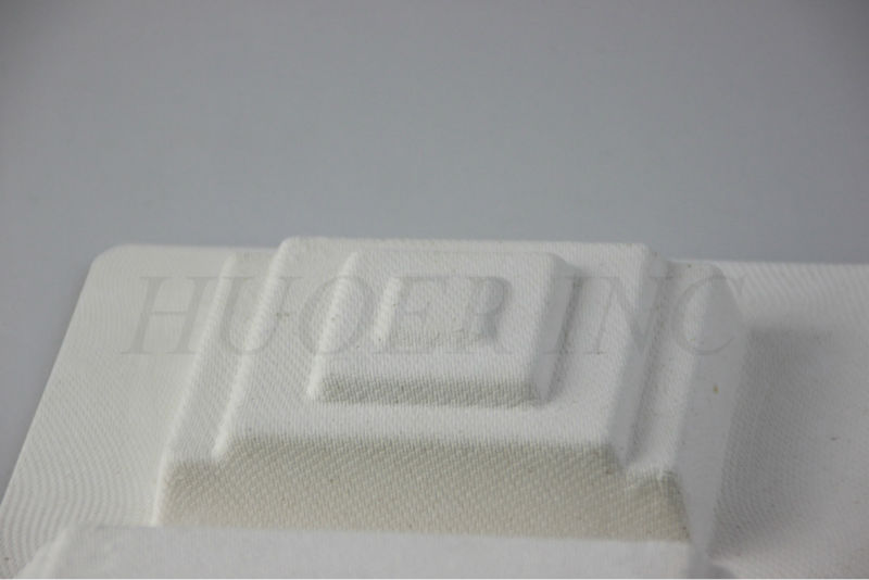 Wet Press Molded Pulp Recyclable Packaging Tray
