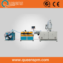 PE Plastic Single Wall Corrugated Pipe Making Machine Manufacturer