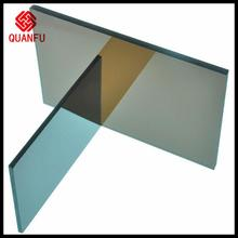 greenhosue/walkways/carports pc sheets high fire rejection concrete roof panels for house skylight