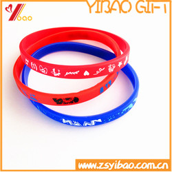 Promotion Fashion Cool Silicone Wristband,Custom Print Logo For Children Gift