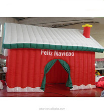 Inflatable Christmas Bounce House With Slide Combo, Christmas Bouncy castle slide, Holiday Inflatable jumper for kids