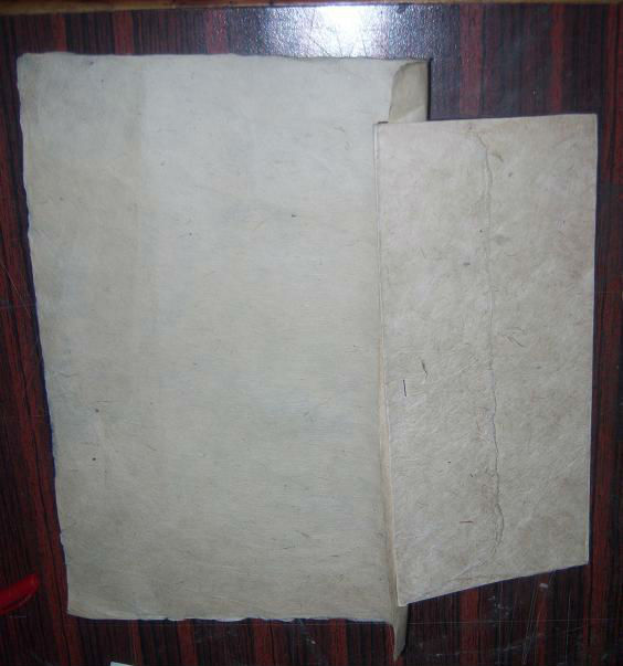 Deckle Edged Lokta Handmade Paper Envelopes and Letter Writing Papers for Correspondence Stationery