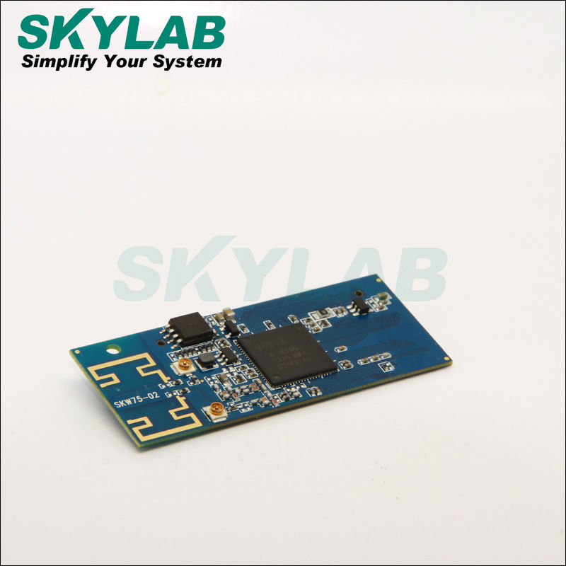 Skylab 2.4GHz 802.11n MAC/BB/radio AP/Router WiFi module SKW75 based on single chip MT7620N with internal PA and LNA