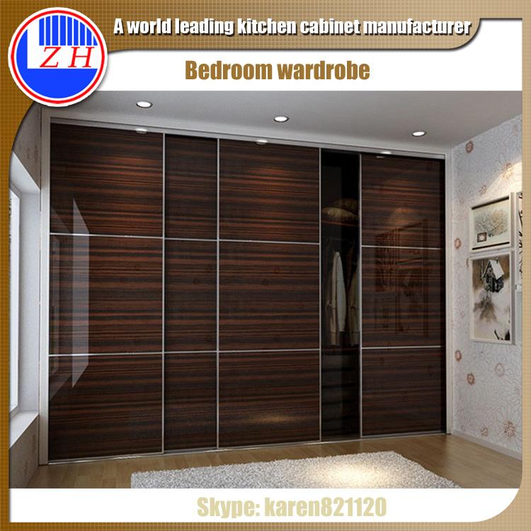 shutter sliding door bedroom wardrobe designs cheap