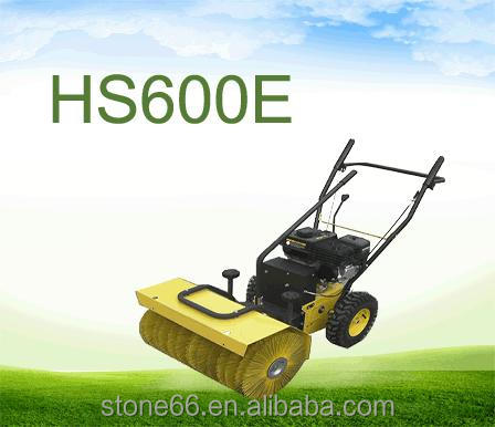 6.5HP gas lawn sweeper