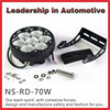 Hot selling nssc led work light 70W off road driving lights lifetime warranty