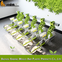 Best discount trailed single Row 2-51cm Planting spacing direct rice seeder machine
