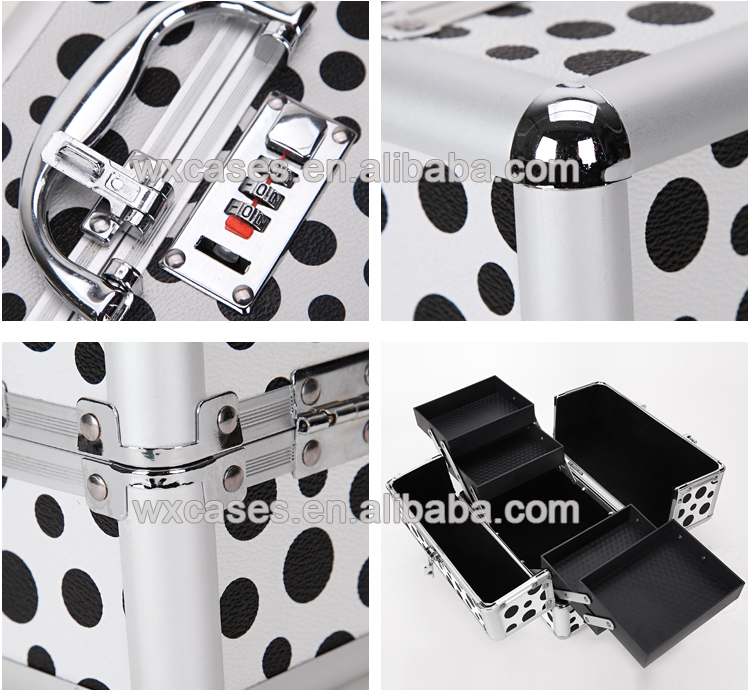 New design factory supply professional beauty makeup vanity case , Luxury makeup case from China
