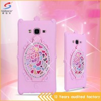 Multi-color/style hot sale design your own silicone phone case for Samsung J7
