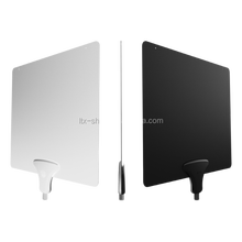 2016 Ultra-thin Flat Indoor HDTV Antenna Portable Satellite UHF/VHF DVB-T Digital Indoor TV Antenna