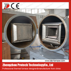 lab used 1200c carburizing and nitriding vacuum furnace for powder