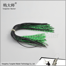 Wholesale fishing tackle accessories tungsten fishing jig head skirts