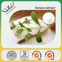 GMP factory making Safety natural food Sweetner 100% pure stevia extract powder