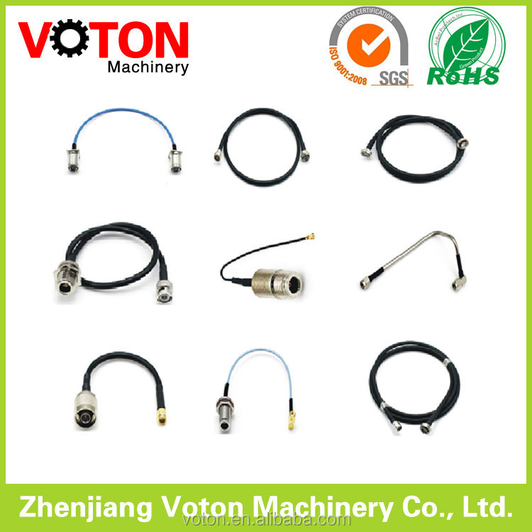 Zhenjiang Jumper 1/2 superflex Cable with 7/16 Din Male Straight 7/16 Din Male Right angle connector