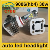 high power 9006 hb4 cree led auto head lamp china manufacturer