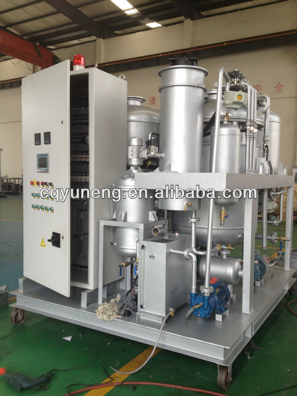YNZSY Series waste engine oil and black oil regeneration fuel oil equipment/plant/system/refinery/device