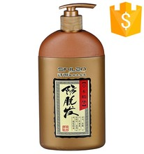 china fashion herbal secret recipe black dye hair shampoo