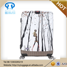 Hot sale fancy luggage used luggage for sale luggage set