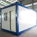 Low cost fast installing steel structure prefab container homes