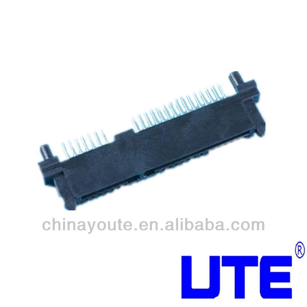 1.27mm 7P 15P 22P SMT SATA CONNECTOR