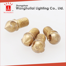 decorative brass eye bolt nut for lamp fitting