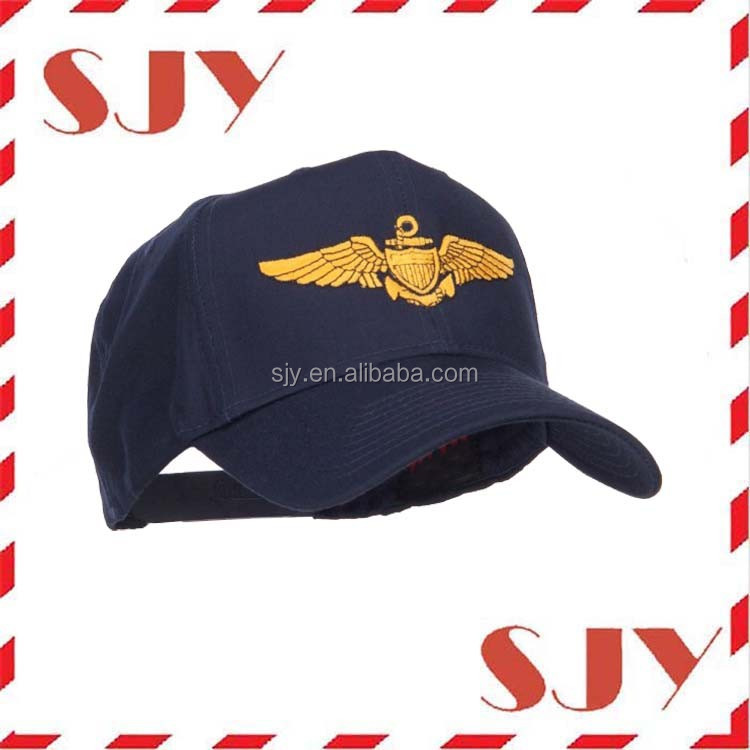 Mens Custom 3D Embroidery Military hats and caps