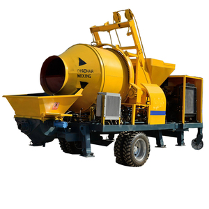 Mini Portable Diesel Concrete Mixer with Pump in india price