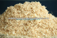 Pine sawdust for horse bedding