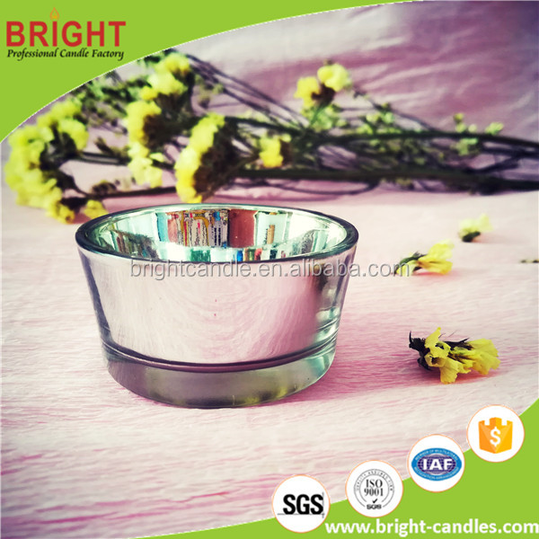 round/square clear luxury tea light holder