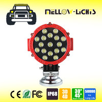 Hot sell 51W spot flood combo beam tail auto led working light