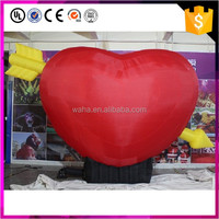 Red Inflatable Heart With Cupid's Arrow For Valentine's Day Decoration W11005