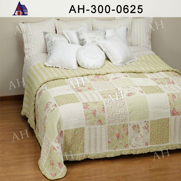 Luxury Brand Quilt Cover European Embroidered Bedding Set