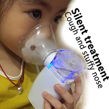 Household use Respiratory Therapy device for Cough Sputum Stuffy nose Ultrasound Atomization treatment tool