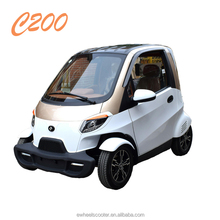 4 wheels auto spare parts car remote controlled electric car 2 seater mini car with air-condition