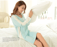 OEM spring cotton sexy evening pregnant women dresses