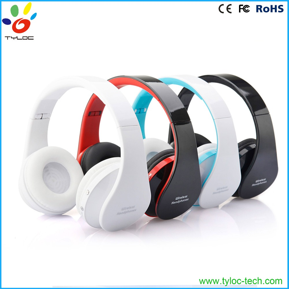 Foldable Wireless Stereo Bluetooth Headphone Earphone Headset For iPhone