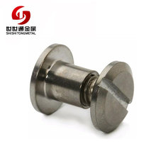 Brass Stainless Steel Book Binding Screw Male Female Chicago Sister Screw (with ISO and RoHS certification)