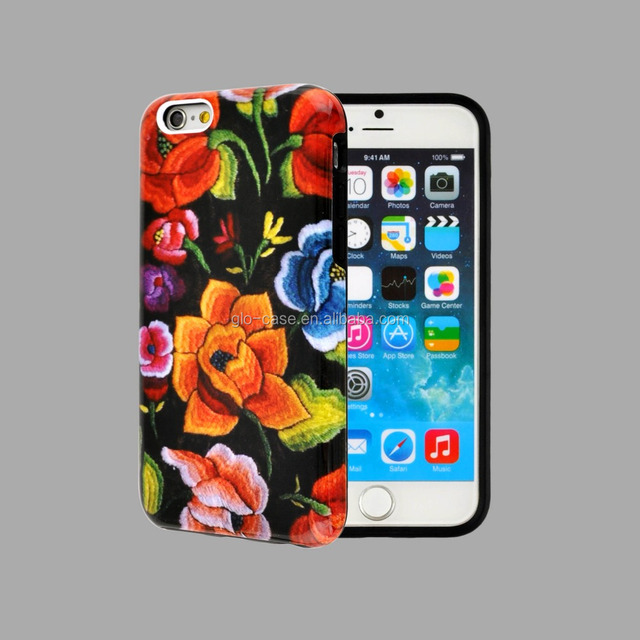 Manufacturers Hot Sale Special Phone Case 2 in 1 Metal Silicon Case For iphone 6