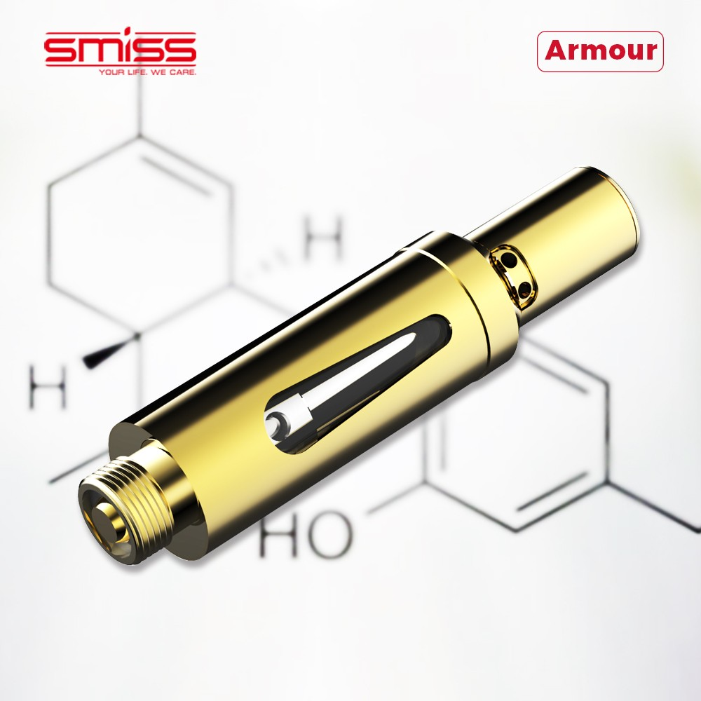 SMISS factory directly CBD Oil Cartridge 510 Glass .5ml Cartridge Vape Pen