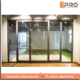 Thermal break aluminium cheap sliding doors modern design