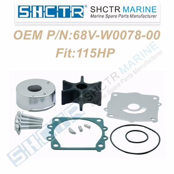 OEM Water Pump & Impeller Kit for 68V-W0078-00 18-3442 115HP