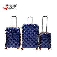 new Fashion good quality Spinner hard shell carry-on PC ABS Trolley Suitcase Luggage
