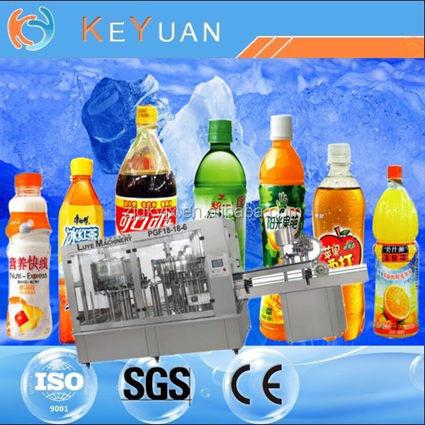 High CO2 Content Carbonated Drink Filling Machine