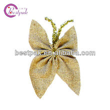 2013 butterfly jute decoration for holidays