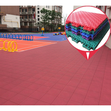 Best quality in China waterproof indoor and outdoor plastic pp interlocking flooring sport tiles