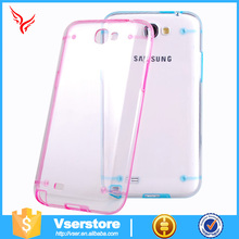 New product luminous case for samsung galaxy s3 clear hard case clear acrylic display phone case